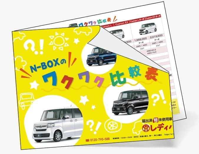 N-BOX ワクワク比較表