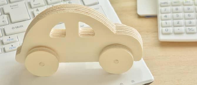 木の車デザインインテリア